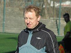 PAVEL PŘIBYL - trenér FK Junior Děčín.