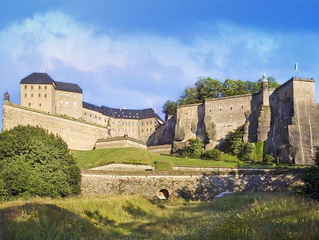 Pevnost Königstein.