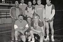 Basketbal ve Varnsdorfu. Archivní snímek