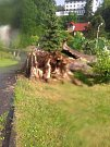 Následky bouřky z 22. června.