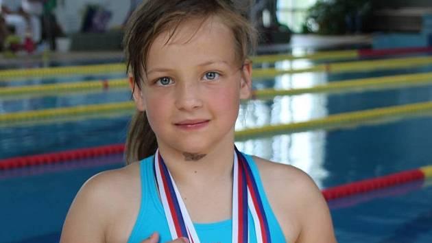 VERONIKA PICKOVÁ získala kompletní sadu medailí.