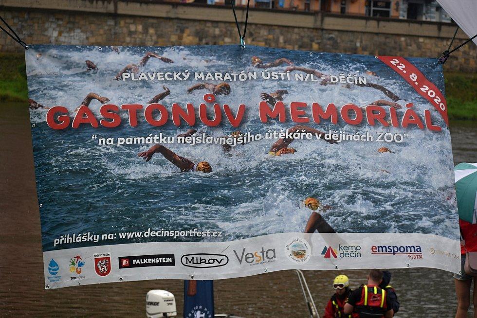 Na Gastonův memoriál se vydala stovka plavců.