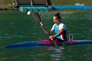 KATEŘINA ZÁRUBOVÁ se na Evropských hrách v Minsku neztratila.