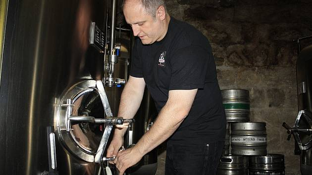 Jan Kočka v pivovaru