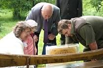 Lesnická škola ve Šluknově postavila nový včelín, využijejej pro výuku.