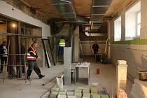 Oprava kuchyně v nemocnici ve Varnsdorfu