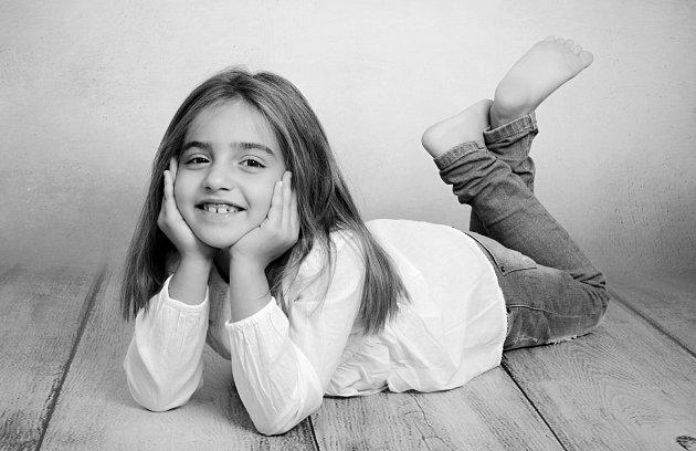 2. Anna Řezníčková - 7let, Děčín.