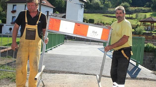 Nový most v Jílovém