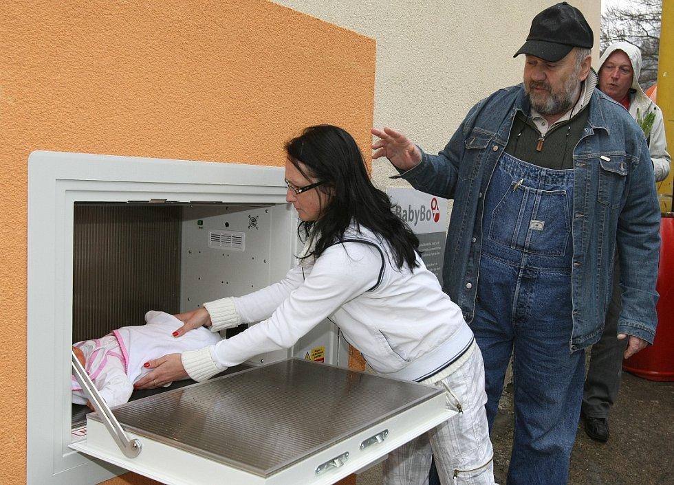 Babybox funguje v Děčíně od roku 2010.