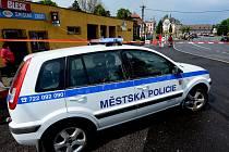 Městská policie Jiříkov.