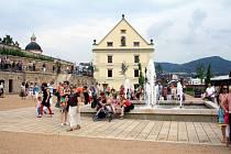 Jižní zahrady děčínského zámku jsou již přístupné veřejnosti.