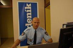 Ředitel  děčínské městské policie Marcel Horák.