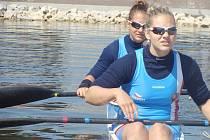 LOUČENÍ. Andrea Rothmeierová se loučila s juniorskou kategorií.