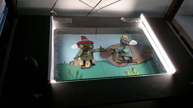 Workshop výtvarné animace pro rodiče s dětmi