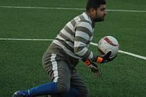 JUNIOR ROMA DĚČÍN trénoval na svůj první zápas.