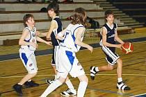 Starší žáci v lize U14 v Brandýse neuspěli.