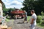 Přívalové deště v červenci poničily v Lobendavě a v Dolní Poustevně desítky domů.
