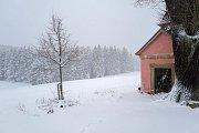 Doubici zasypal sníh.