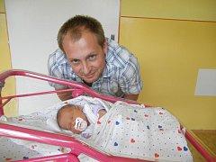 Marii Holubové z Děčína se 3. červnence ve 23:23 v děčínské porodnici narodila dcera Eva Koubková. Měřila 49 cm a vážila 3,35 kg.