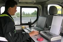 Kamiony na hraničním přechodu v Rumburku prohlíželi policisté s celníky