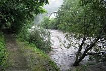 ¨Benešov nad Ploučnicí opět ohrožuje velká voda