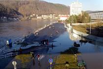 Povodeň na Labi v lednu 2011
