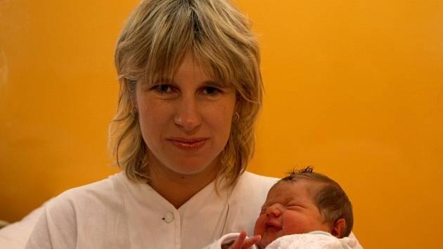 Šárce Pohlreichové z Jílového u Děčína se 24. října v děčínské porodnici narodila dcera Tereza. Vážila 3,88 kg a měřila 52 cm.