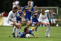 JAK SE JIM BUDE DAŘIT. V prvním kole Varnsdorf vyhrál 1:0 v Novém Boru.