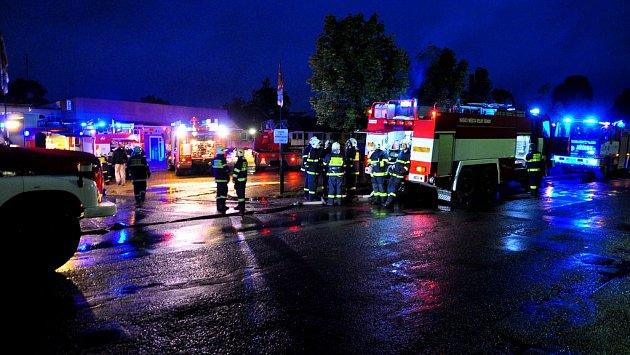 Výbuch ve Šluknově