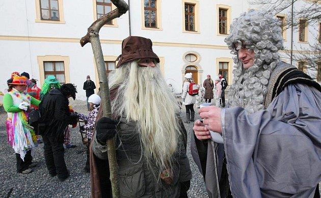 Masopustní průvod Děčínem 4. února 2012