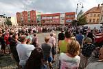 Druhá demonstrace za zachování provozu Lužické nemocnice.
