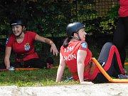 Hasiči se ve Verneřicích utkali v soutěži.