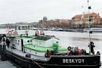 BESKYDY kotví v podzimní Praze.