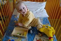 Tomášek tráví tyto dny v nemocnici.