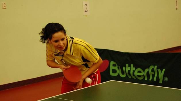 Turnaj studentů si zahrála i Z. Rambousková.