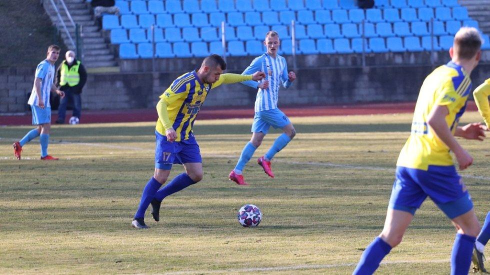 Fotbalisté Varnsdorfu doma podlehli Prostějovu 2:4.