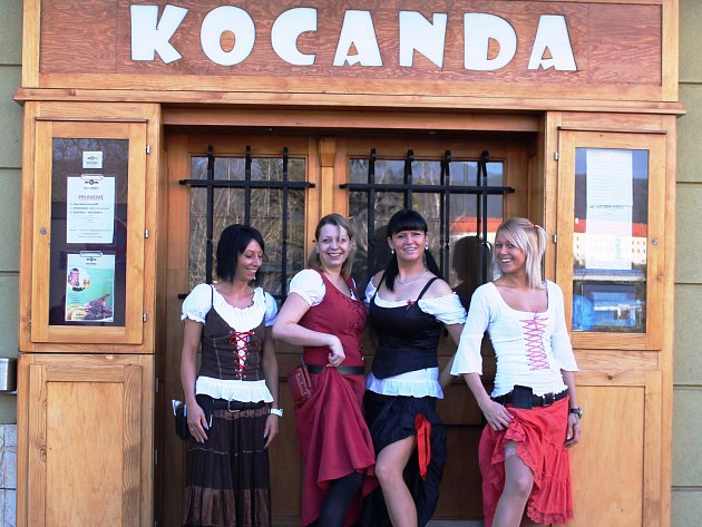 Personál restaurace Kocanda.