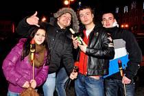 Oslavy Nového roku v Rumburku