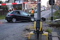 Řidička se na přejezdu ve Šluknově střetla s vlakem