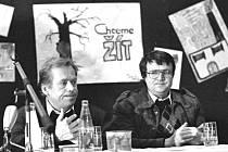 Listopad 1989 na Děčínsku.