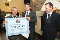 Obec Horní Podluží získala Zlatou stuhu a půl milionu korun