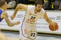 JIŘÍ JELÍNEK byl nejlepším střelcem Děčína v utkání proti Brnu.