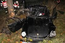 Smrtelná nehoda u Markvartic