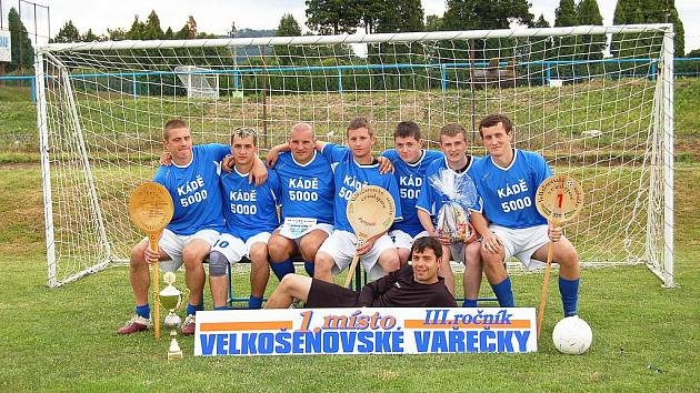 KÁDĚ 5000 – vítěz turnaje Velkošenovská vařečka pro rok 2011.