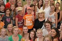V Jiřetíně pod Jedlovou se konal TALENT CAMP pro děti. Letos na akci dorazila například herečka Gabriela Vránová.