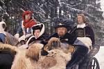 Pohádka Popelka se vrací na Moritzburg.