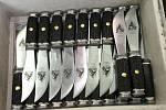 Fotoreportáž z výroby světoznámého kapesního nože rybička přímo v továrně Mikov v Mikulášovicích na Děčínsku.