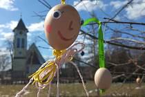 Park plný vajíček