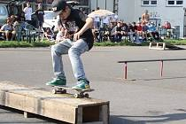 DC SKATE CONTEST se konal v děčínském skateparku.