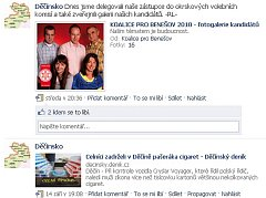 Facebooková stránka Děčínsko